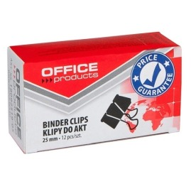 Klipy do dokumentów 25mm Office Products 12szt.